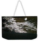 River Shimmer Weekender Tote Bag