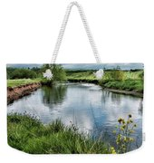 River Tame, Rspb Middleton, North Weekender Tote Bag