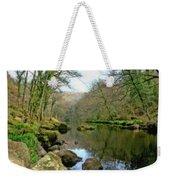 River Teign - P4a16010 Weekender Tote Bag