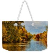 River Thames At Staines Weekender Tote Bag