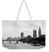River Thames, London Weekender Tote Bag