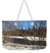 River Through The Branches Weekender Tote Bag