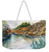 River Through The Hills Weekender Tote Bag