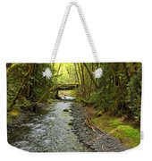 River Through The Rainforest Weekender Tote Bag