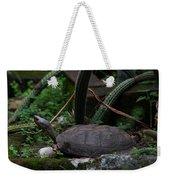 River Turtle 1 Weekender Tote Bag