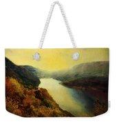 River Valley Sunrise Weekender Tote Bag