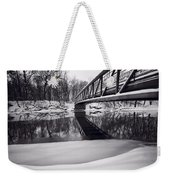 River View B And W Weekender Tote Bag