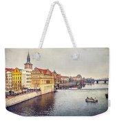 River Vltava Weekender Tote Bag