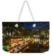 A Night On The River Walk Weekender Tote Bag