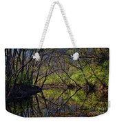 River Walk Reflections Weekender Tote Bag