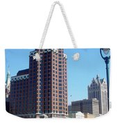 River Walk View Photo Weekender Tote Bag