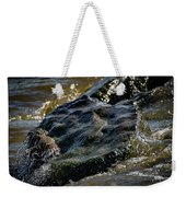 River Washed Rock Weekender Tote Bag