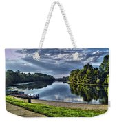 Riverbank Boats Weekender Tote Bag