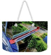 Riverboat Landing At Sacajawea Park Weekender Tote Bag