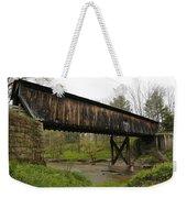 Riverdale Road Covered Bridge Weekender Tote Bag