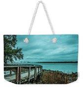 Riverfront Park Boardwalk Weekender Tote Bag
