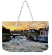 Riverfront Park Sunrise Weekender Tote Bag