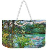 Riverview Spring Stage One Weekender Tote Bag