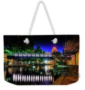 Riverwalk Bridge Weekender Tote Bag