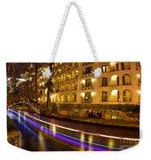 La Mansion Del Rio Riverwalk Christmas Weekender Tote Bag