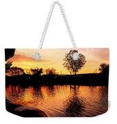 Riverwalk Sunrise  Weekender Tote Bag