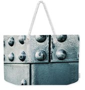 Riveted Pieces Of Iron Weekender Tote Bag