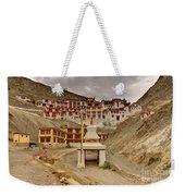 Rizong Monastery Ladakh Jammu And Kashmir India Weekender Tote Bag