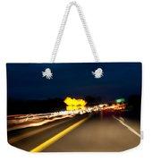 Road At Night 1 Weekender Tote Bag