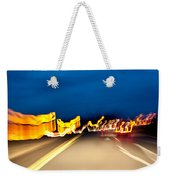 Road At Night 2 Weekender Tote Bag