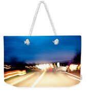Road At Night 5 Weekender Tote Bag