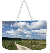 Road From The Farm Weekender Tote Bag