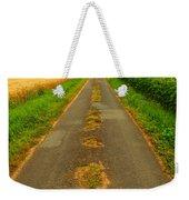 Road In Rural France Weekender Tote Bag