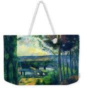 Road Leading To The Lake, By Paul Cezanne, Circa 1880, Kroller-m Weekender Tote Bag