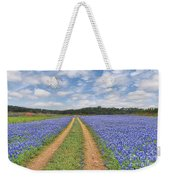 Road Of Bluebonnets  Weekender Tote Bag