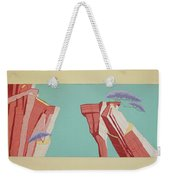 Road Runner Back Drop Weekender Tote Bag