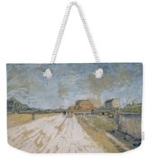 Road Running Beside The Paris Ramparts Paris, June - September 1887 Vincent Van Gogh 1853  1890 Weekender Tote Bag
