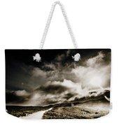 Road Storm Weekender Tote Bag