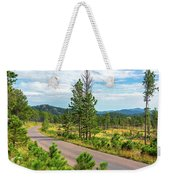 Road Through Custer State Park Weekender Tote Bag
