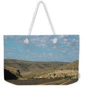 Road Through New Mexico Desert High Noon Weekender Tote Bag