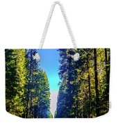 Road Through The Forest Weekender Tote Bag