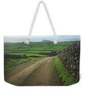 Road Through The Pastrues Of Terceira  Weekender Tote Bag by Kelly Hazel