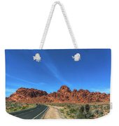Road Through Valley Of Fire  Weekender Tote Bag