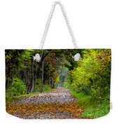 Road To Autumn Weekender Tote Bag
