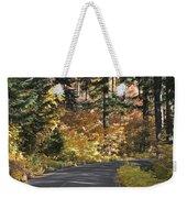 Road To Autumn Weekender Tote Bag