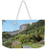 Road To Benbulben County Leitrim Ireland Weekender Tote Bag