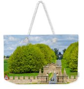 Road To Burghley House-vertical Weekender Tote Bag