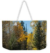 Road To Fall Colors Weekender Tote Bag