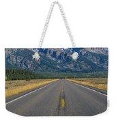 Road To Grand Teton National Park Weekender Tote Bag
