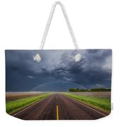Road To Nowhere - Rainbow Weekender Tote Bag