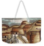 Road To Petra Weekender Tote Bag